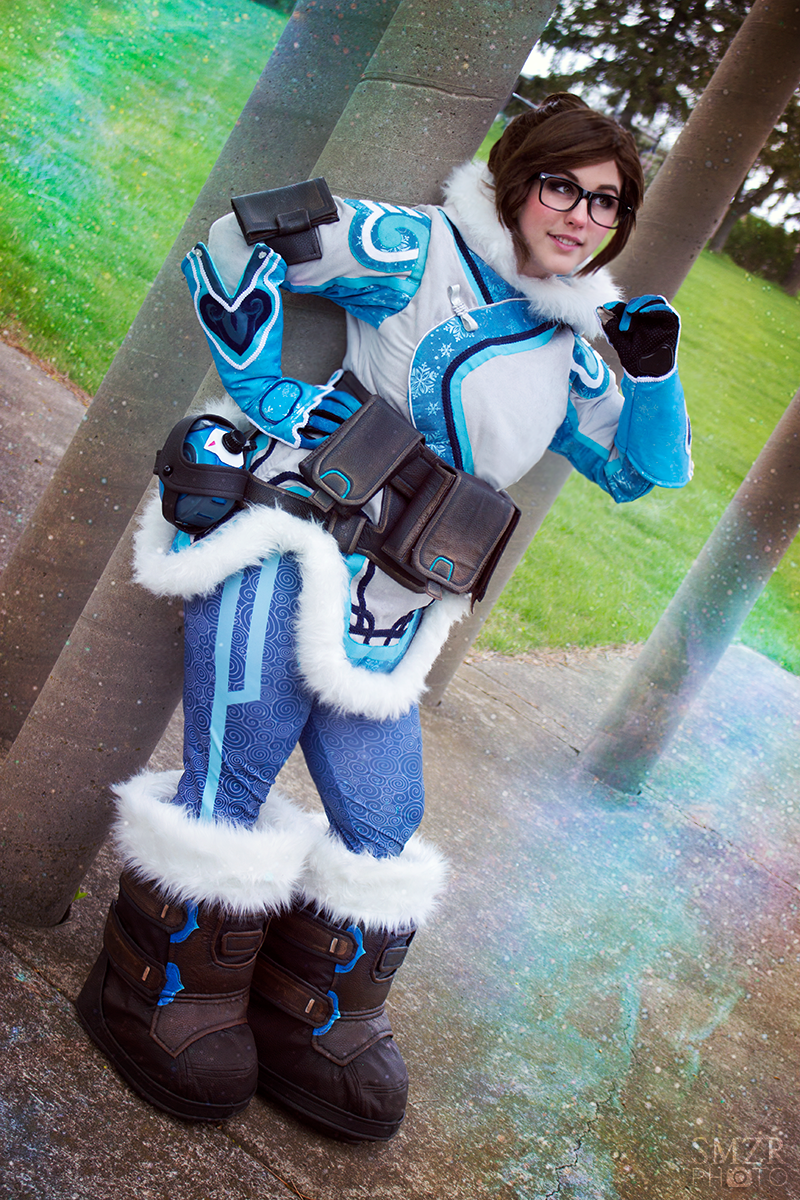 This Overwatch Mei Costume Is Prepared For The Cold