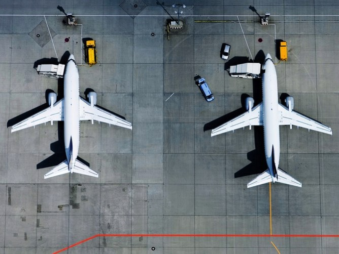 Airplanes Aerial TA 72664771