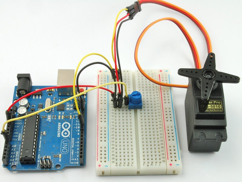 Adafruit Guide Arduino and Servo