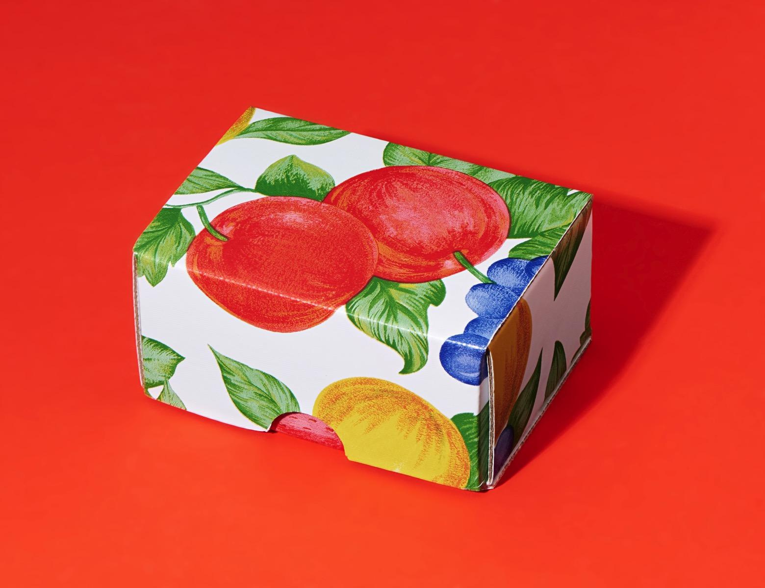 Fruit vinyl tablecloth