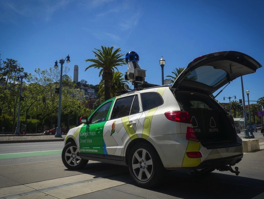 Google s Street View cars offer block by block pollution readings 2