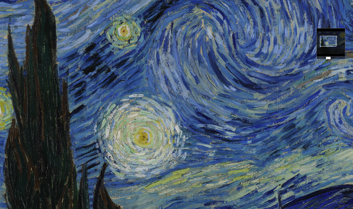 The Starry Night Google Arts Culture