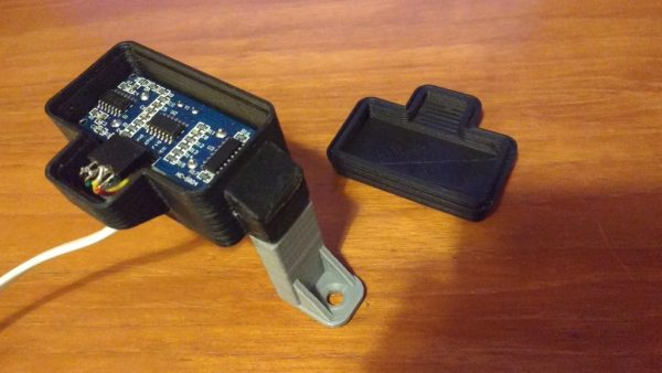 Ultrasonic Distance Sensor Housing Waterproof 3dthursday