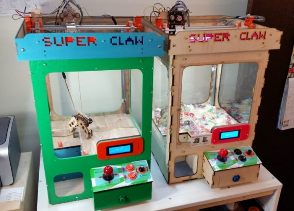 Grab Some Candy With This Arduino Claw Machine 171 Adafruit