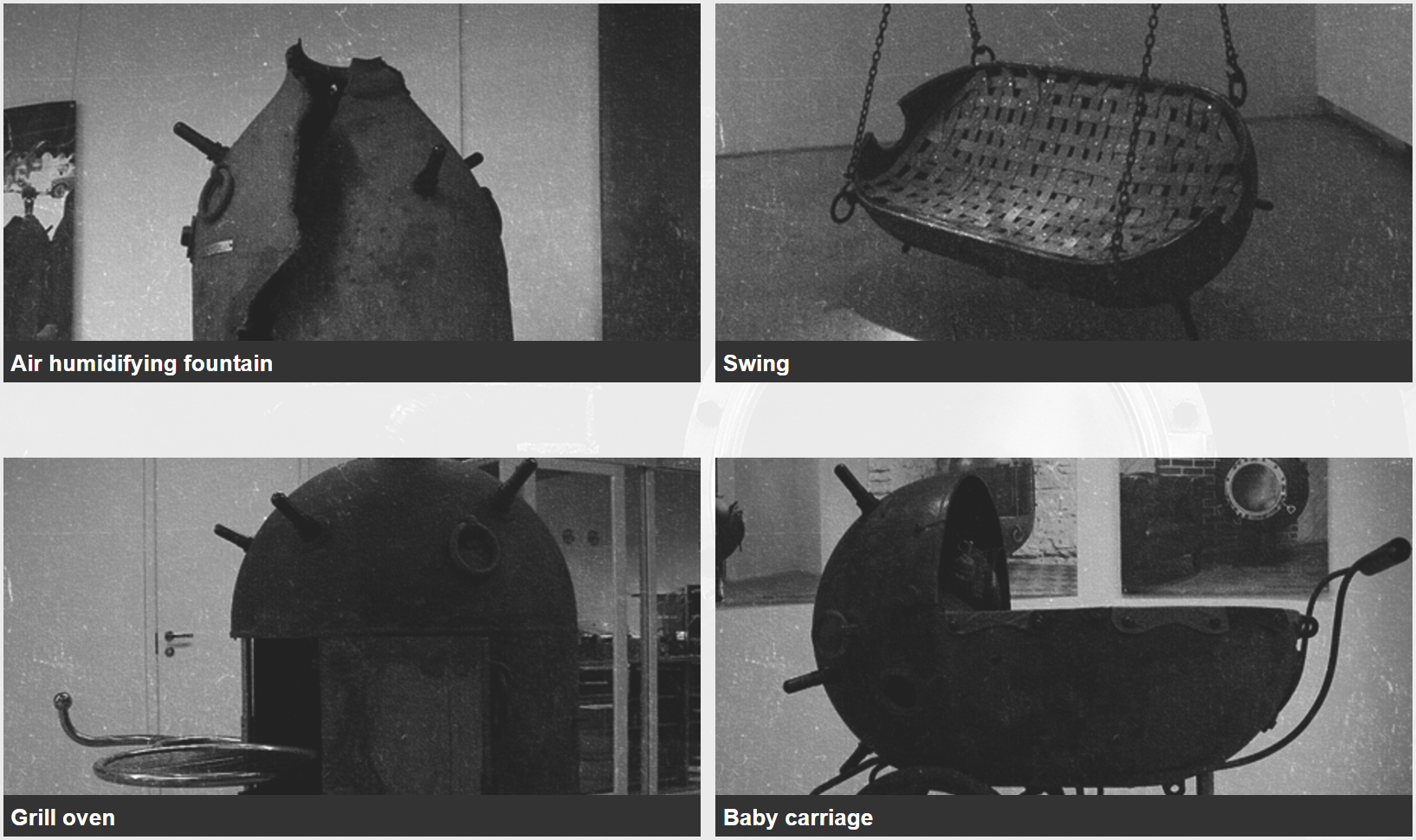 Art U0026 Furniture Made From 1940s 60s Russian AGSB, KB, And UKSM Deep Sea  Mines, By Mati Karmin