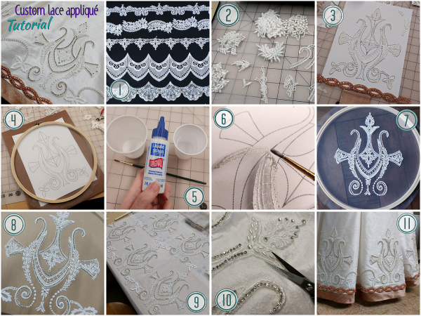 How to make lace appliques for cosplay « adafruit industries
