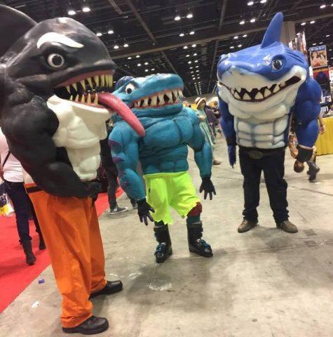 The Street Sharks Go To Megacon 171 Adafruit Industries