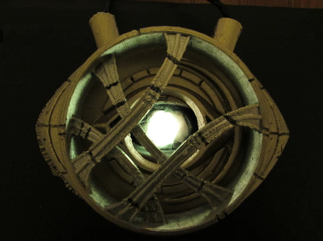 3D Printed Eye of Agamotto Doctor Strange with Opening Eye by Black Ram Industries Pinshape