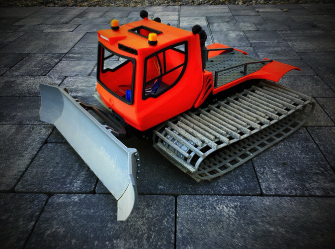 3D Printed PistenBully 1 14 R C by Supeso Pinshape