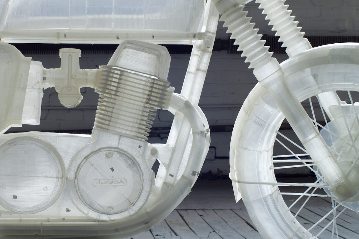 Jonathan Brand 3D Printed Motorcycle 6