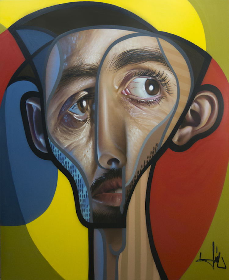 Hyperrealism neo cubism belin 1