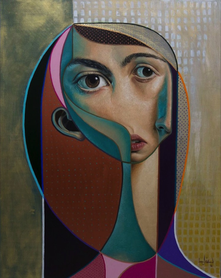 Hyperrealism neo cubism belin 2
