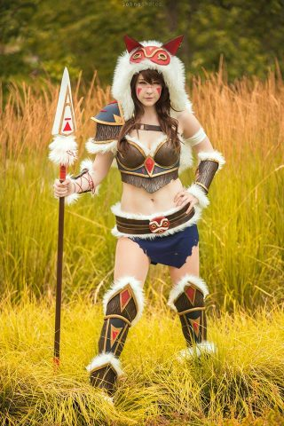 Princess Mononoke Is Ready For Battle With Armored Cosplay