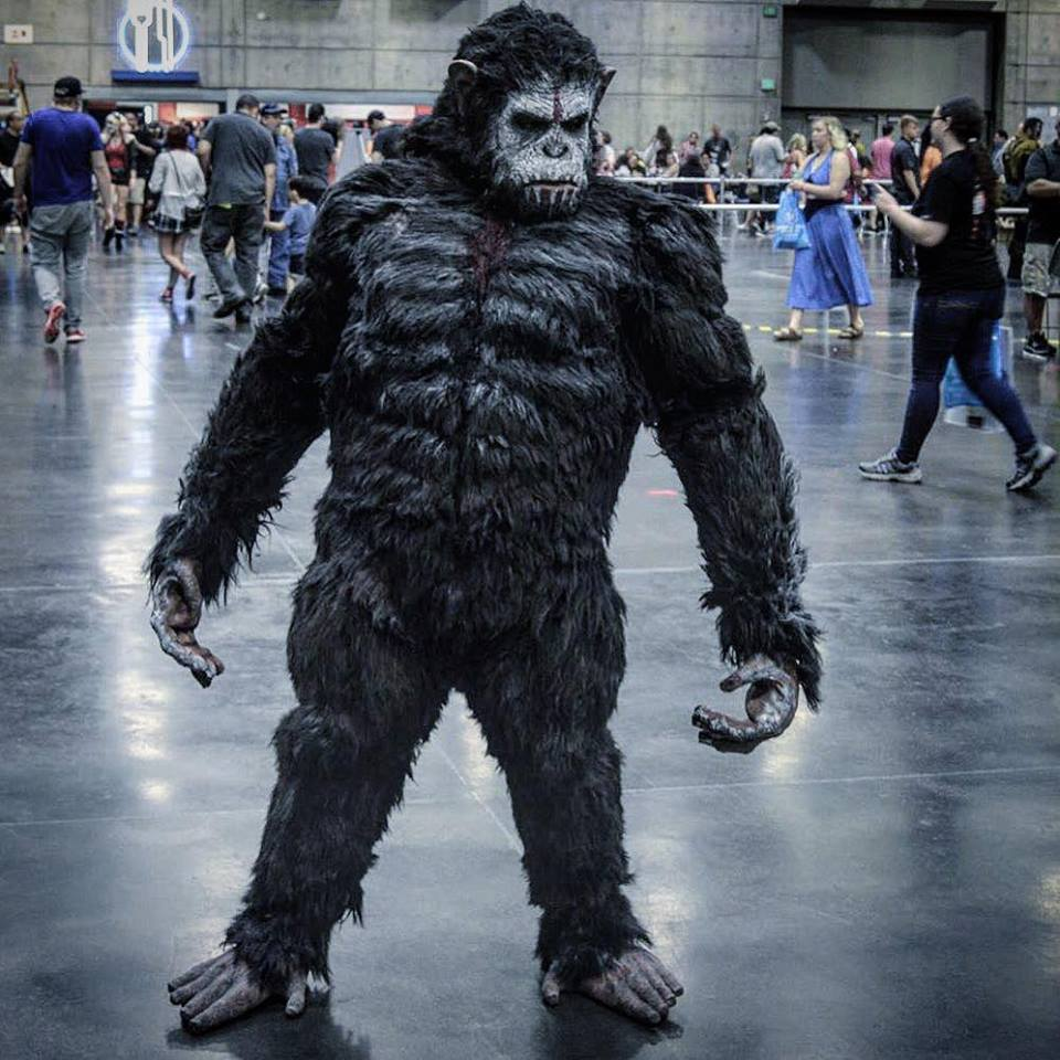 Arduino: Caesar Rules This Dawn Of The Planet Of The Apes Costume