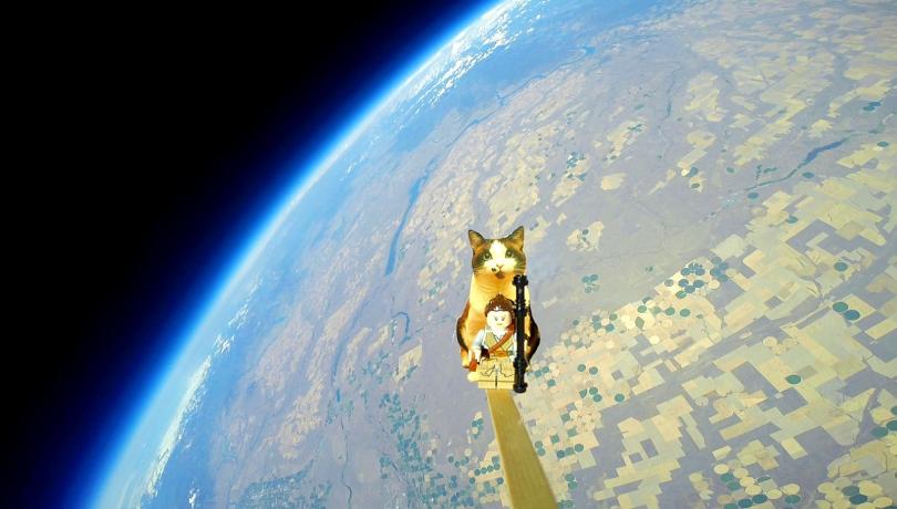 Space Girls Balloon