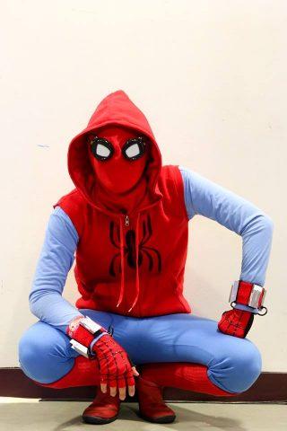 Peter Parkeru0027s Homemade Spider-Man Suit Costume & Peter Parkeru0027s Homemade Spider-Man Suit Costume « Adafruit ...