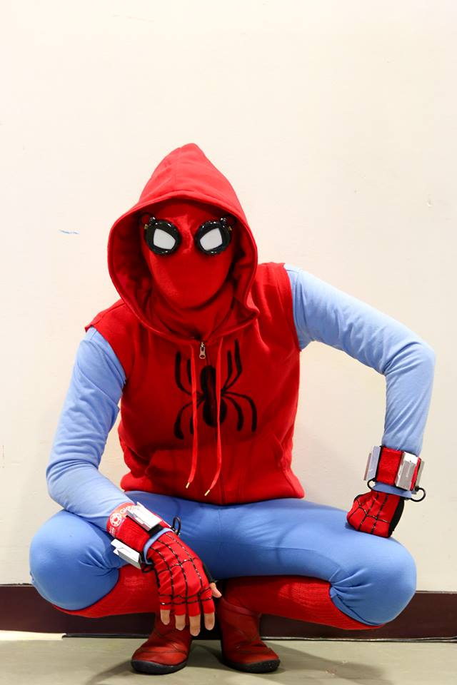 Peter Parker's Homemade Spider-Man Suit Costume « Adafruit