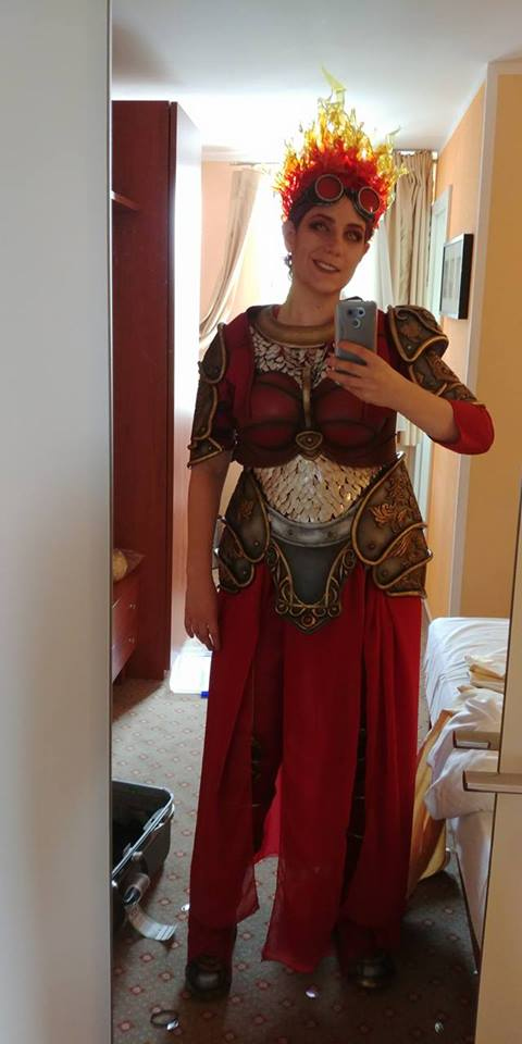 this magic  the gathering cosplay is lit  u00ab adafruit