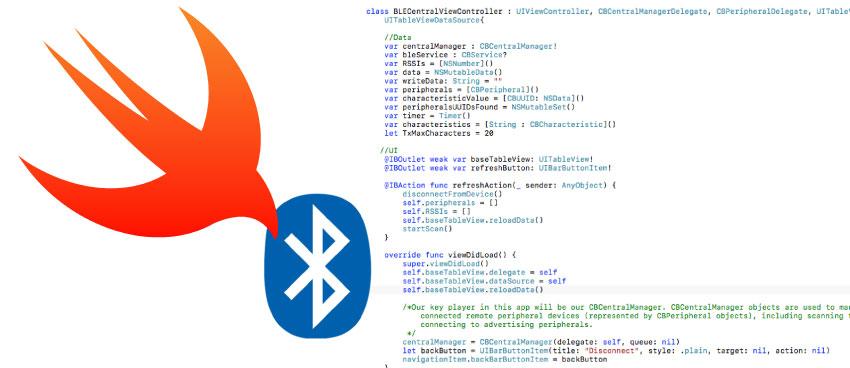 New Guide: Create a Bluetooth LE App for iOS « Adafruit