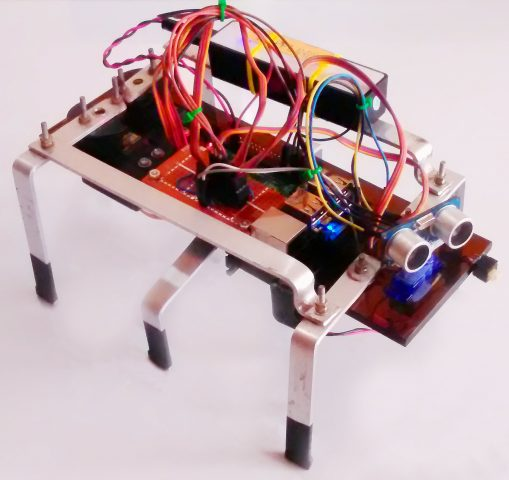 Build a Hexapod Robot with a Raspberry Pi @Raspberry_Pi