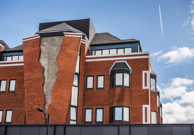 Six pins half a dozen needles alex chinneck design installations dezeen 2364 col 6