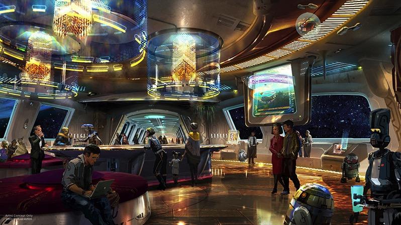 Star wars disney hotel designboom 001