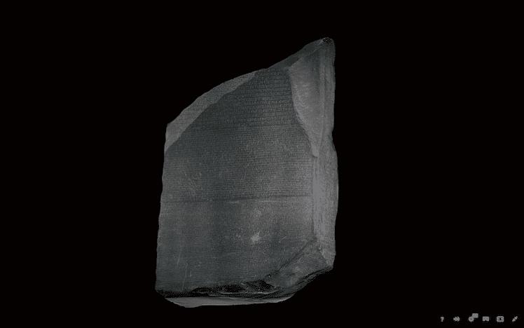 3D Rosetta Stone 1