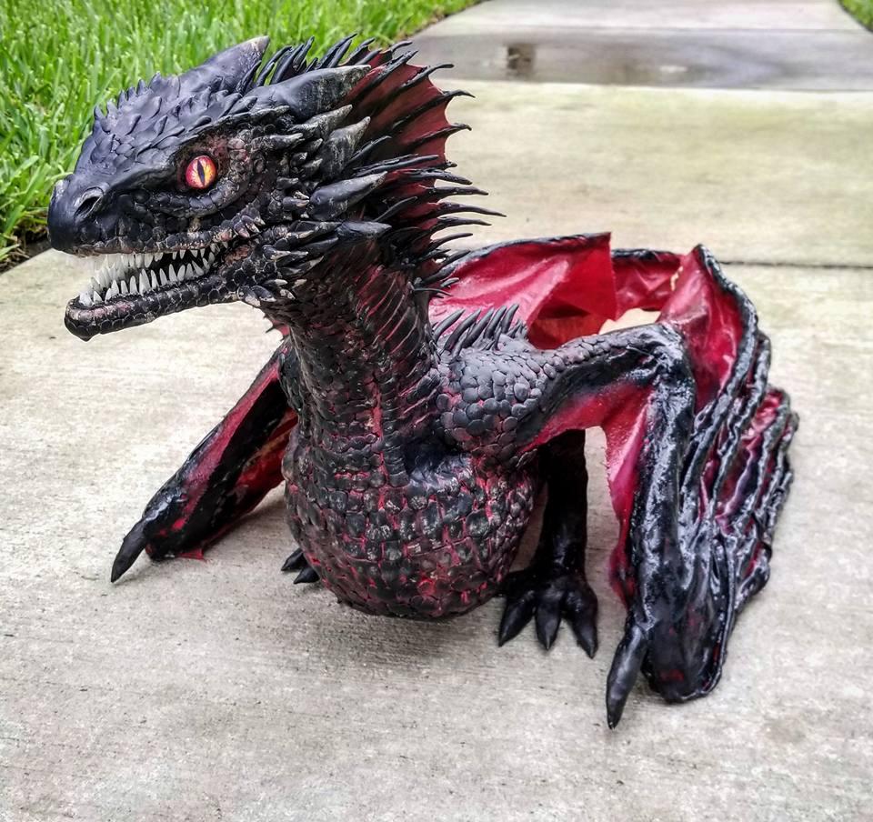 Building Drogon From Game Of Thrones « Adafruit Industries