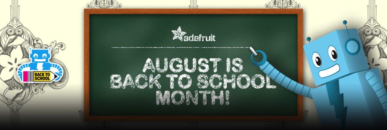 Iadafruit BackToSchool blog