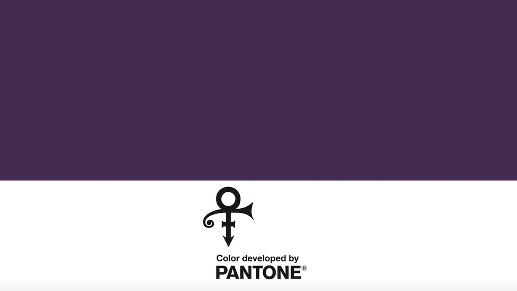 Prince announces pantone custom color purple dezeen hero2
