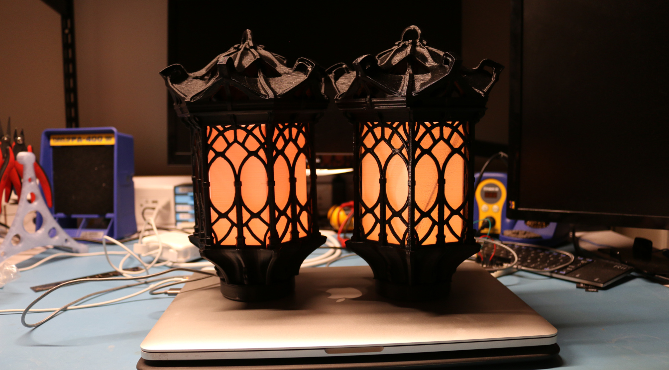 gothic lantern lighting. Then I Saw The Folks At Adafruit Post About Building This Great Looking Gothic Lantern And Added A Small Enclosure To House Circuit Playground Light It Lighting