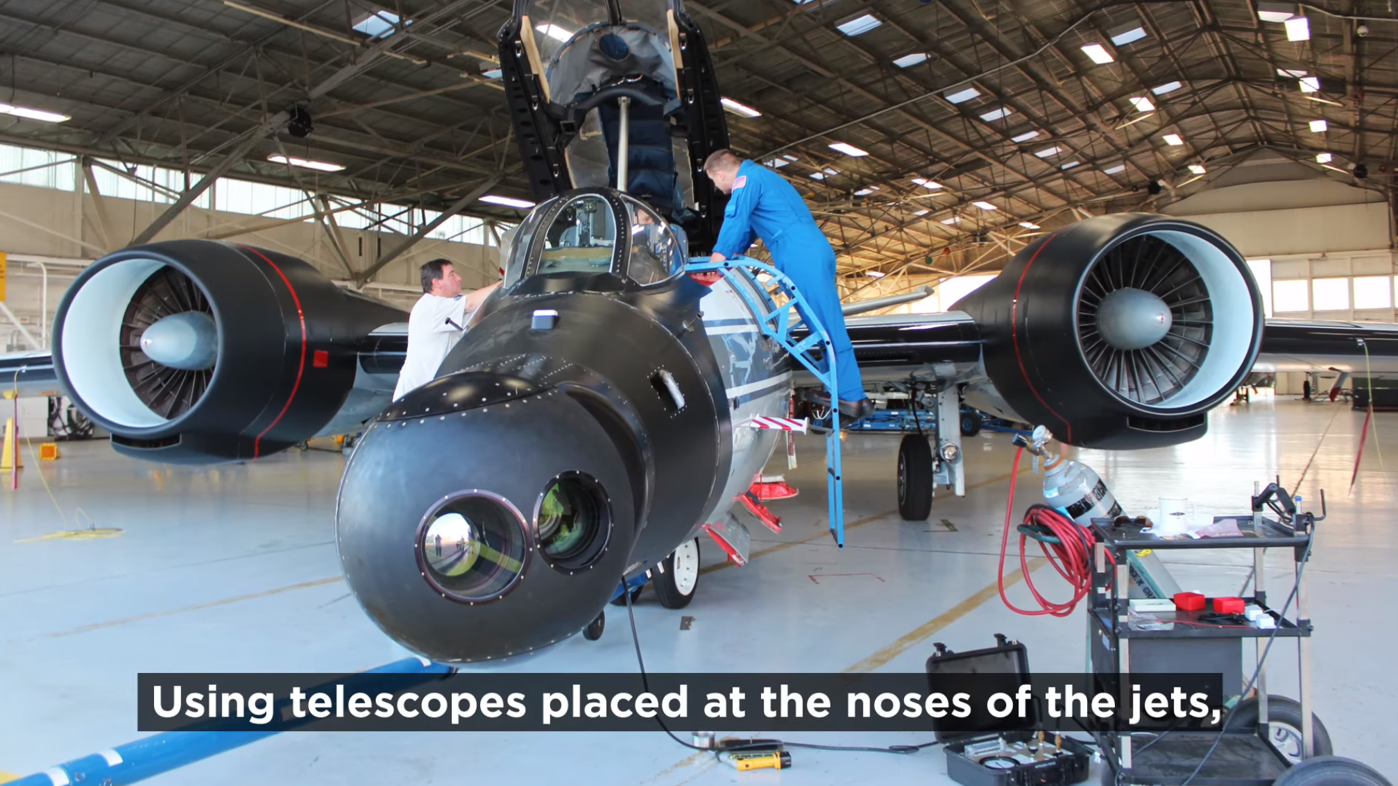 @NASA Pilots Will Chase the #SolarEclipse in These Jets ...