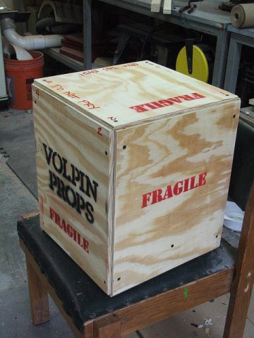 How to Make a Shipping Crate for Props « Adafruit Industries