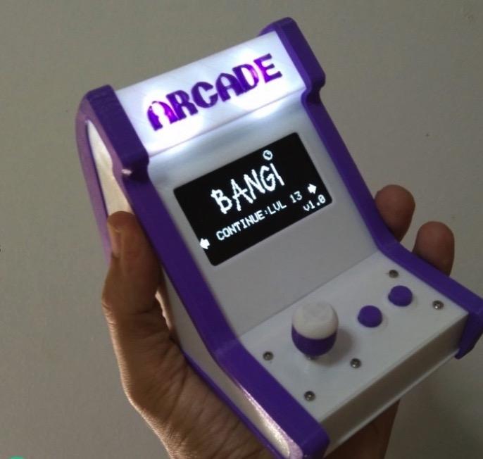 3D Printable Arduino Arcade Bartop by Fernando Jerez