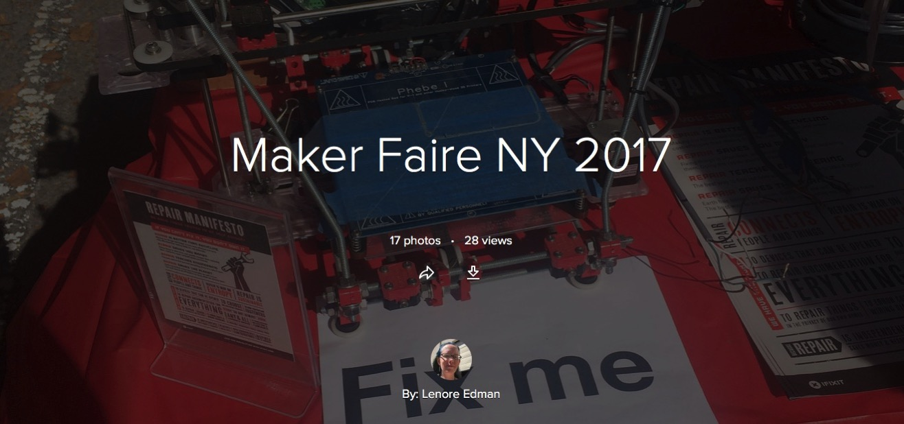Maker Faire NY 2017 Flickr