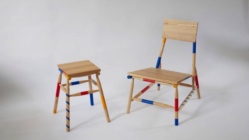 Mikado rio kobayashi furniture london design festival design dezeen hero1 852x479