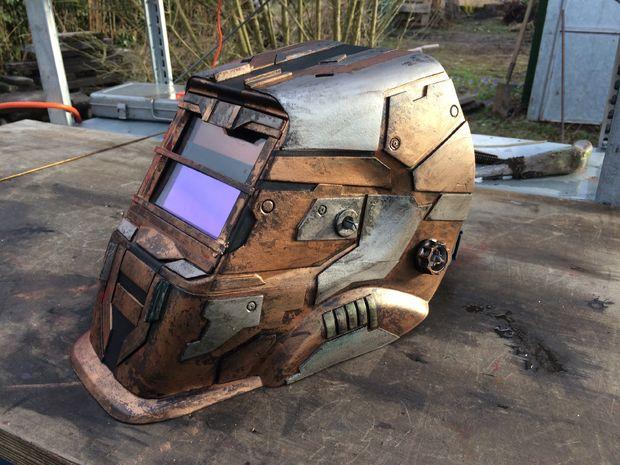 A Dead Space Inspired Welding Helmet 171 Adafruit