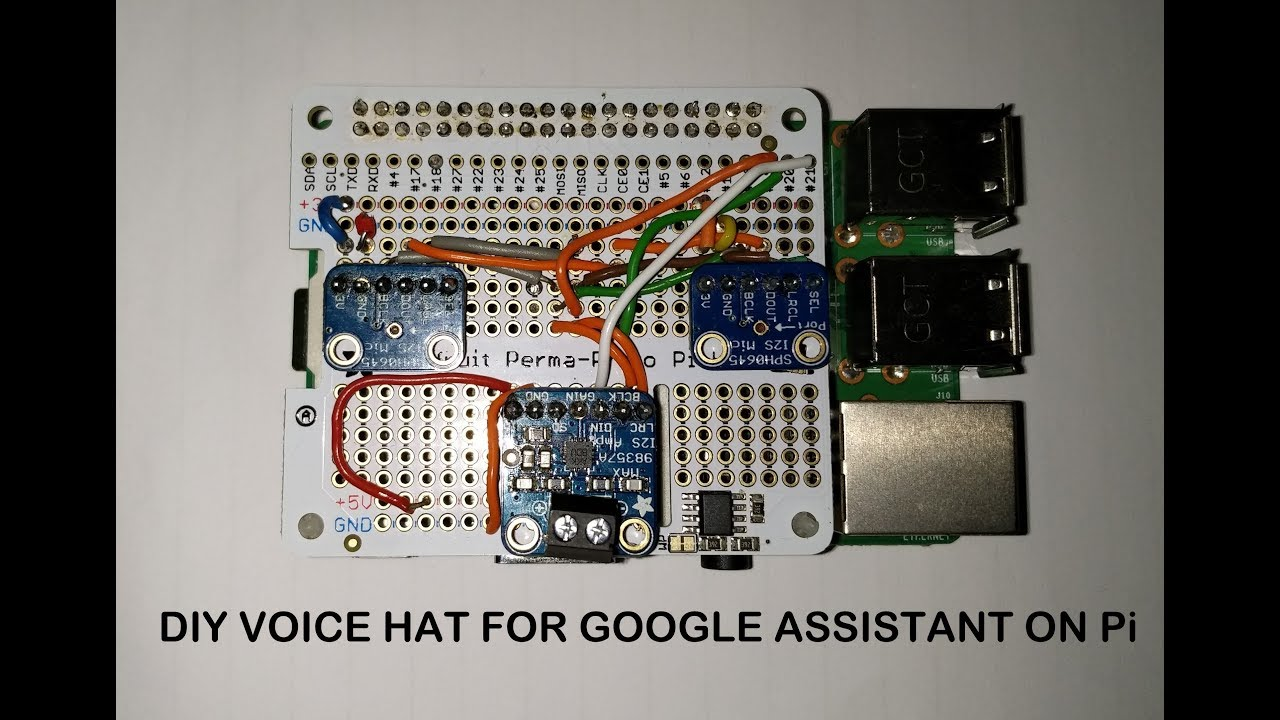 Make Your Own Google Voice Hat Raspberry Pi Piday Raspberrypi Electronic Hobby Site Contact Debouncing In Circuits Adafruit Industries Makers Hackers Artists Designers And Engineers