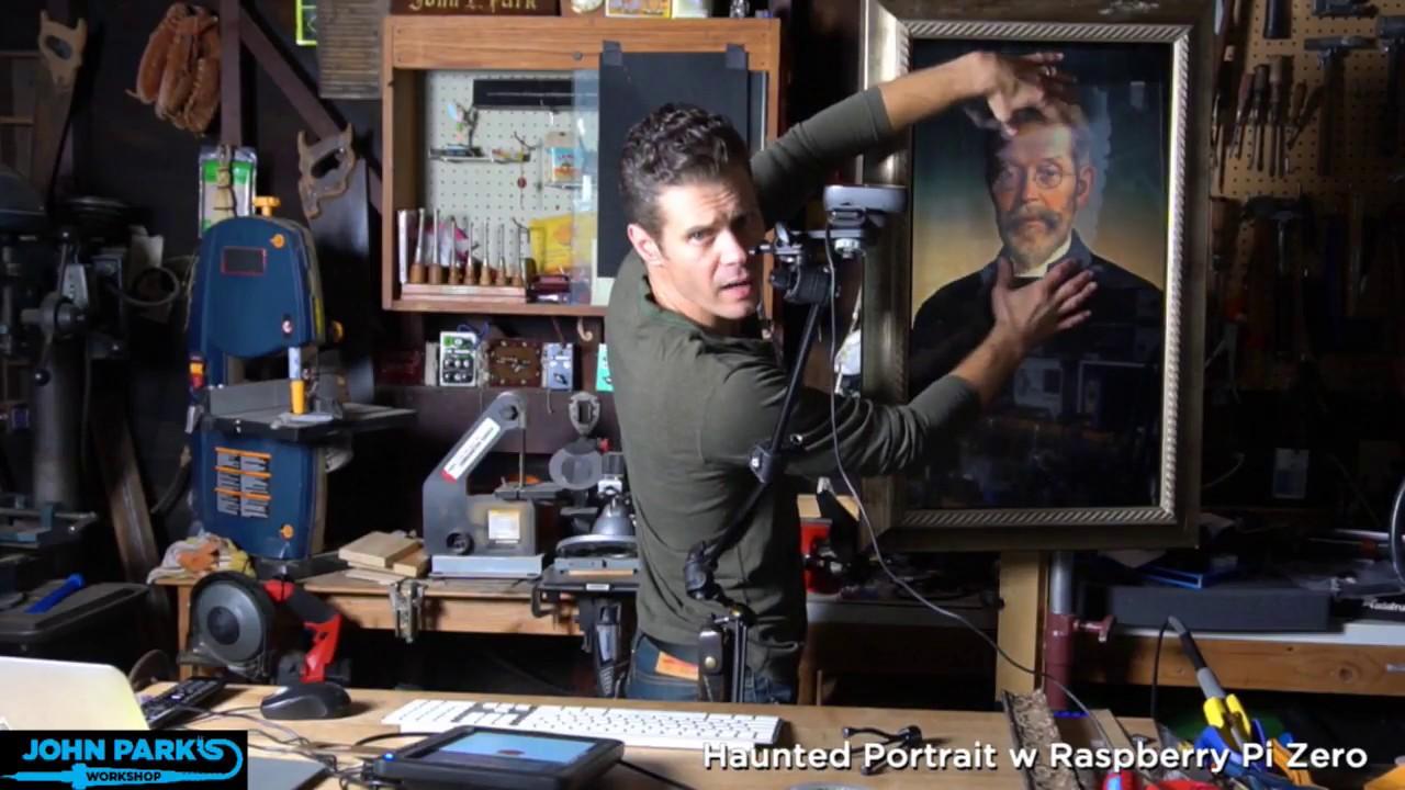 New Guide John Parks Haunted Portrait Adafruit Johnedgarpark Infrared Proximity Sensor Circuit Halloween Industries Makers Hackers Artists Designers And