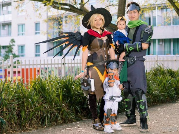 Overwatch Family Cosplay With Witch Mercy Adafruit Industries