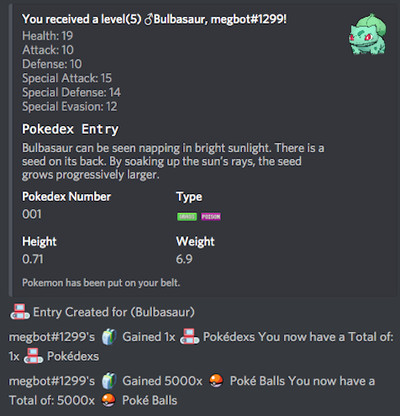 Discord Bot Turns Pokémon into a Text-Based Adventure
