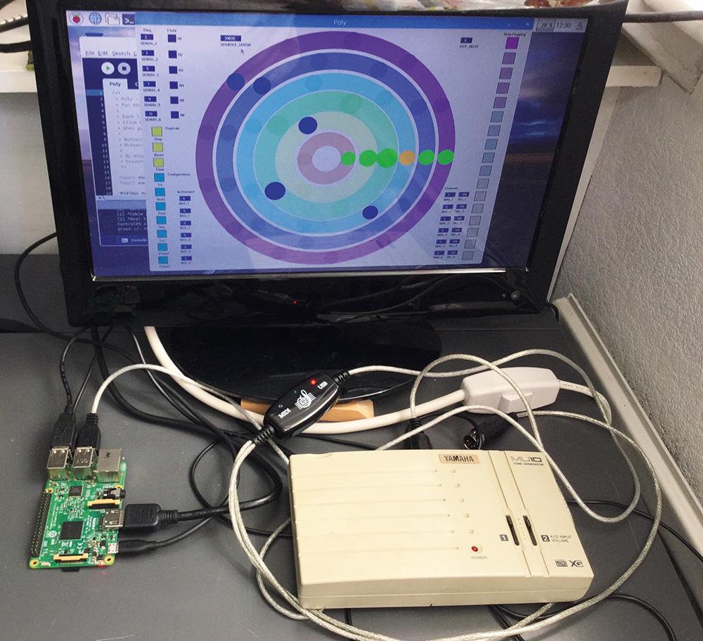 Polyrhythmic sequencer
