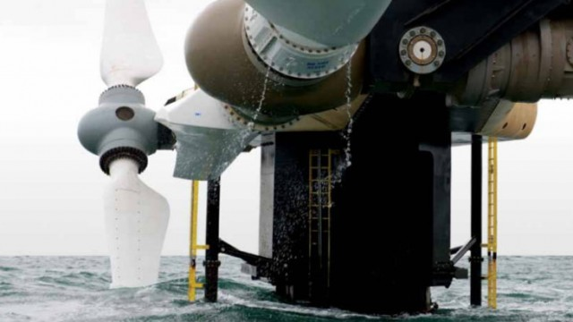 Scottish tidal power station breaks records