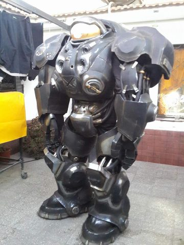 Starcraft Raynor Suit Made From Eva Foam 171 Adafruit