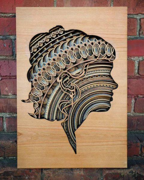 Astonishing Laser Cut Wood Sculptures Arttuesday 171 Adafruit Industries Makers Hackers