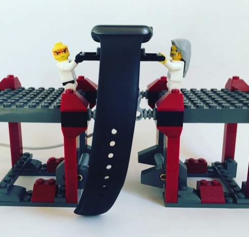 3D Printed lego apple watch stand by ramonangosto Pinshape