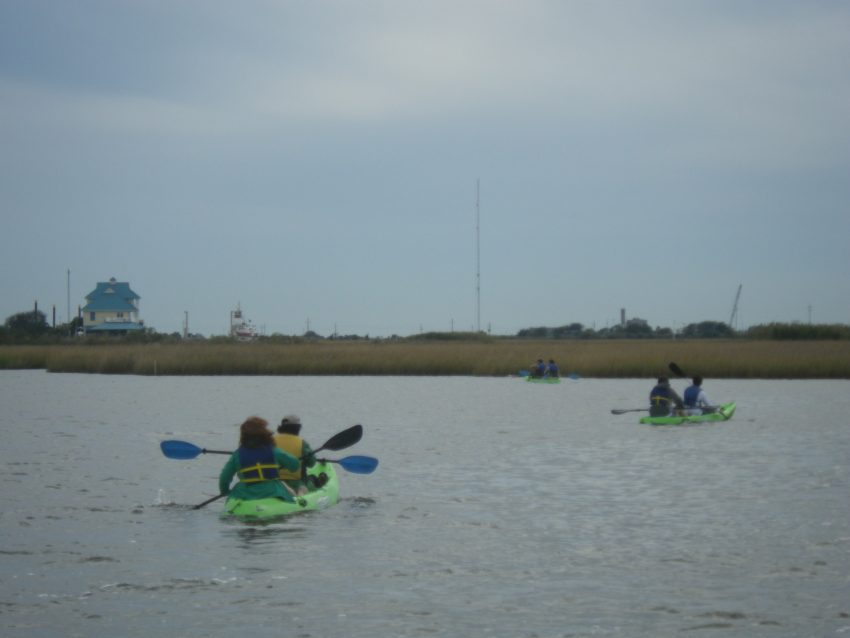 Barnraising Kayaking