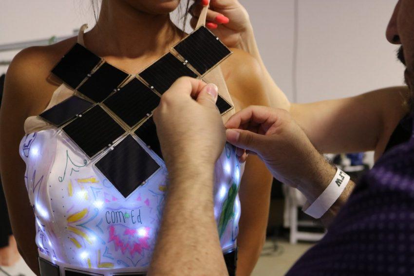 Comed Solar Fashion Detail