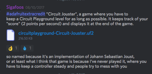 Adafruitextracredit Discord