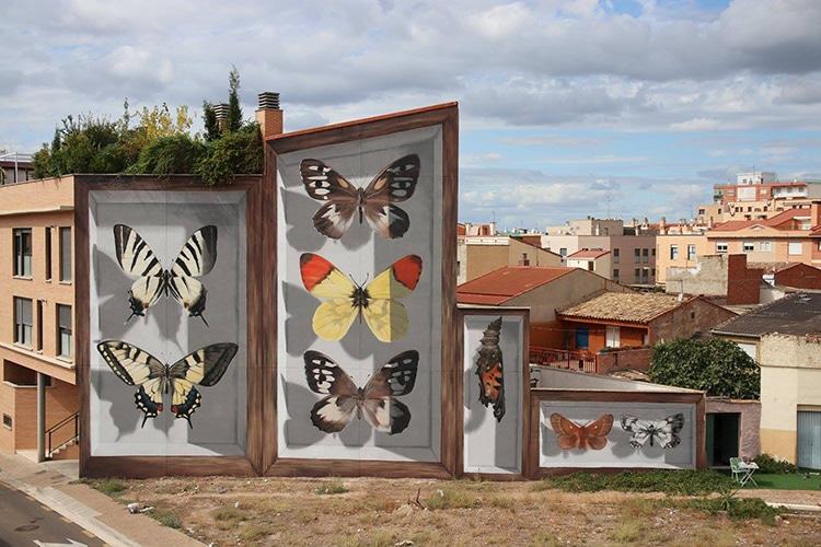 Butterfly murals mantra 2